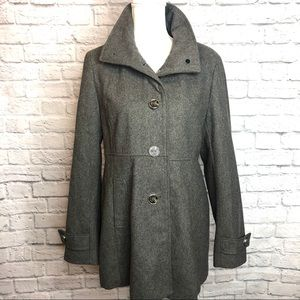 Kenneth Cole Reaction Wool Coat